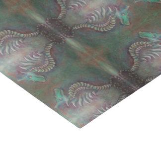 lenço de papel do dragão do cavalo marinho