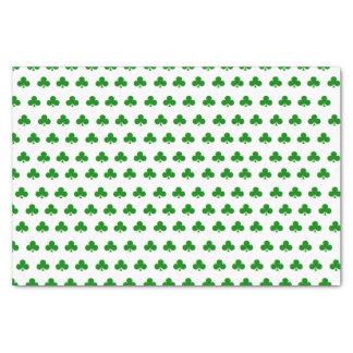 """Lenço de papel do """"trevo"""""""