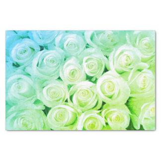 Lenço de papel dos rosas do Aqua