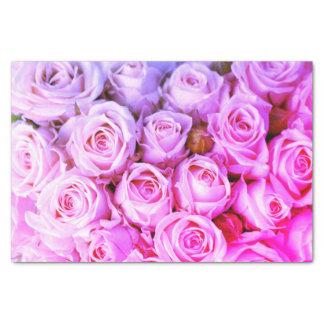 Lenço de papel dos rosas do rosa quente