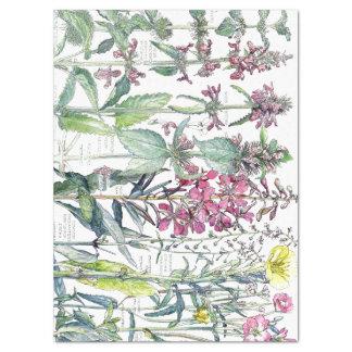 Lenço de papel dos Wildflowers da flor da orelha