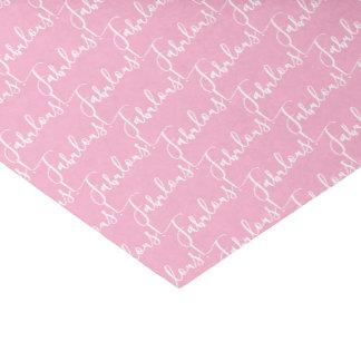 Lenço de papel fabuloso cor-de-rosa do partido da