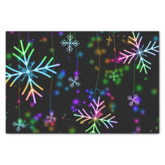 Lenço de papel festivo do floco de neve do Natal