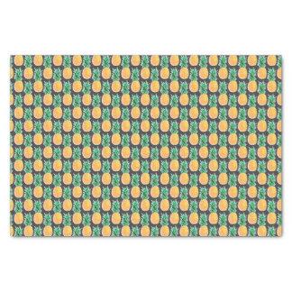 Lenço de papel geométrico tropical do abacaxi