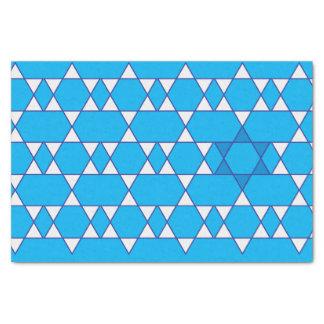 Lenço de papel judaico da estrela