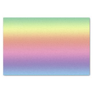 Lenço de papel - listras do arco-íris (hrz)