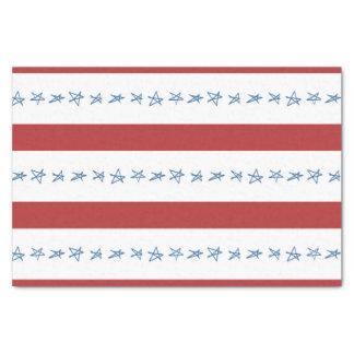 Lenço de papel patriótico
