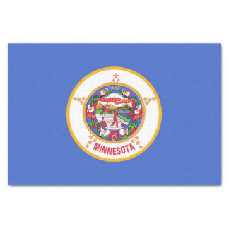 Lenço de papel patriótico com a bandeira de
