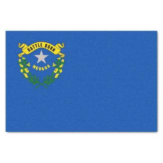 Lenço de papel patriótico com bandeira Nevada, EUA