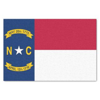 Lenço de papel patriótico com bandeira North