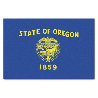 Lenço de papel patriótico com bandeira Oregon, EUA