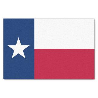 Lenço de papel patriótico com bandeira Texas, EUA