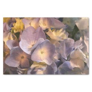 Lenço de papel roxo da flor