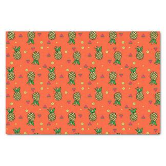 Lenço de papel tropical do impressão da melancia &