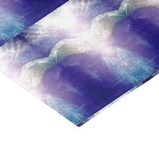 Lenço de papel violeta de prata do anjo