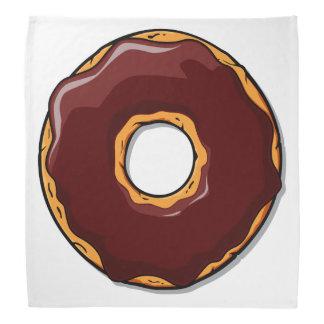 Lenço Design da rosquinha do chocolate dos desenhos