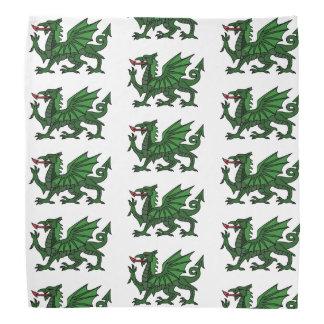 Lenço Dragão verde