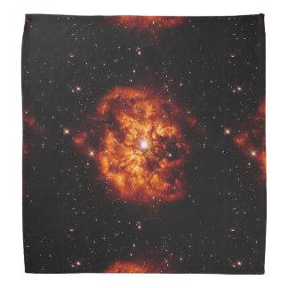 Lenço Estrela e nebulosa