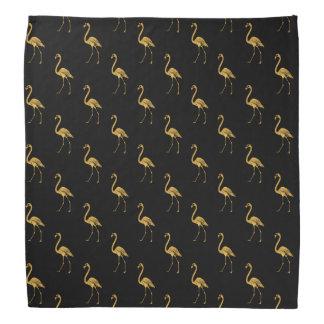 Lenço Flamingo dourado TP