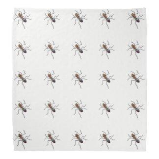 Lenço Formiga abstrata