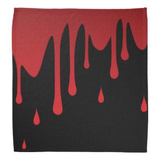Lenço Gotejamento do sangue