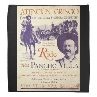 Lenço Herói do mexicano do general Pancho Villa