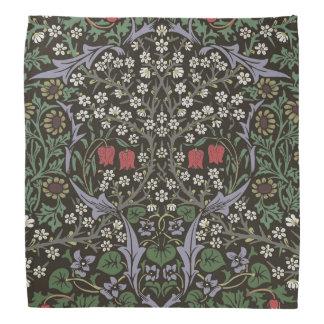 Lenço Impressão da arte da tapeçaria da ameixoeira-brava