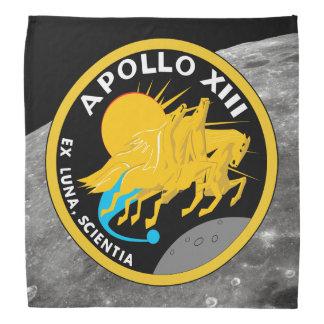 Lenço Logotipo do remendo da missão da NASA de Apollo 13