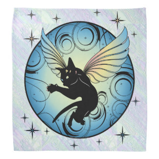 Lenço Lua cósmica do gato