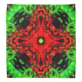 Lenço Mandala da lava da selva