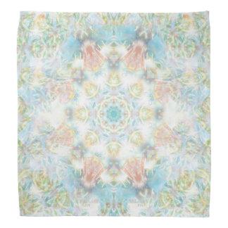 Lenço Mandala Pastel da flor