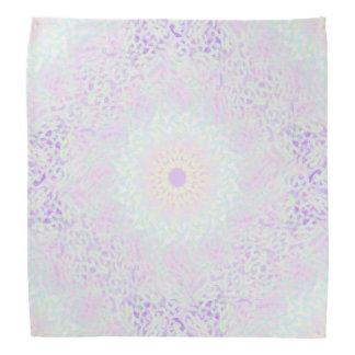 Lenço Mandala Pastel do amor macio (grande)