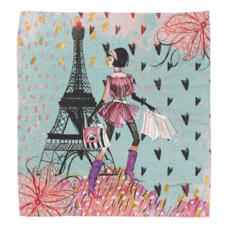 Lenço Menina da forma em Paris