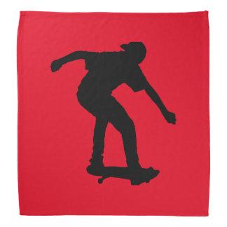 Lenço Menino na silhueta do skate