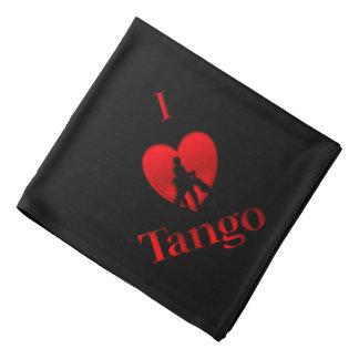 Lenço Mim design da dança do tango do coração