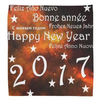 Lenço O feliz ano novo 2017