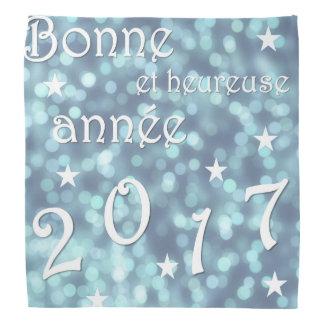 Lenço O feliz ano novo 2017, francês