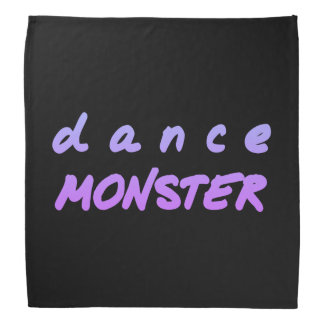 Lenço O monstro da dança