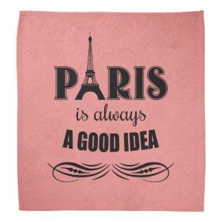 Lenço Paris é sempre uma boa ideia
