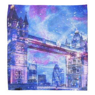 Lenço Sonhos da Londres do amante