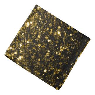 Lenço Sparkles bonitos do ouro amarelo