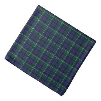 Lenço Tartan do distrito de Menteith Scotland