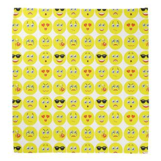 Lenço Teste padrão bonito de Emoji