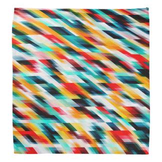 Lenço Teste padrão colorido colorido