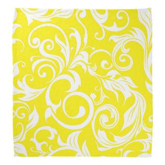 Lenço Teste padrão tropical do papel de parede floral do