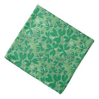 Lenço Trevos do dia de St Patrick