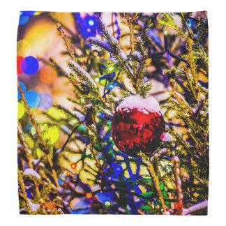Lenço Vermelho da bola do Natal