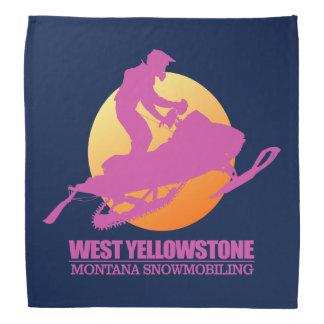 Lenço Yellowstone ocidental (manutenção programada) 2