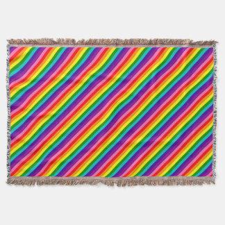 Lençol Bandeira das listras do original 8 do orgulho gay