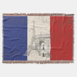 Lençol Bandeira e símbolos de France ID156